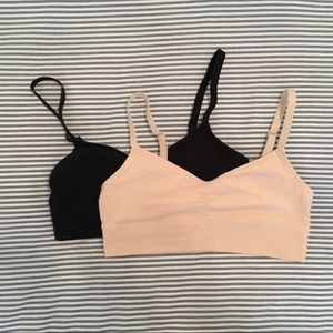 Aerie Chill Cotton Bralette (2 pack)